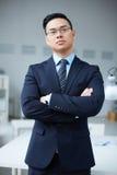 Elegant employer Royalty Free Stock Image