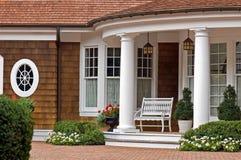 Elegant Entrance Royalty Free Stock Images