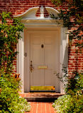 Elegant entrance. Beautiful Home Royalty Free Stock Images
