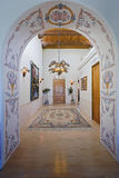 Elegant Entrance Hall Stock Photo