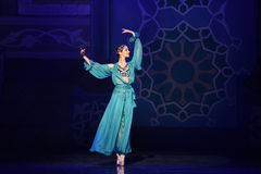 """Elegant för balett""""One tusen och en för fe Nights† Arkivfoto"""