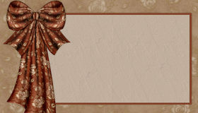 Elegant Fabric Bow Background Royalty Free Stock Photo