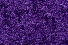 Elegant fabric texture in contrast violet tone. High resolution photo Royalty Free Stock Image