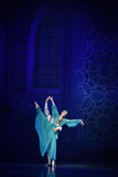 """Elegant Fairy- ballet """"One Thousand and One Nights"""" Royalty Free Stock Photos"""