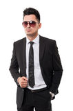 Elegant and fancy business man Royalty Free Stock Photo