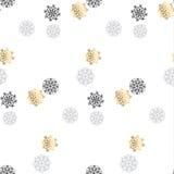 Elegant fancy light Snowflake motif. Stock Images