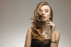 Elegant fashion girl Royalty Free Stock Photography