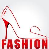 Elegant fashion illustration Stock Photography