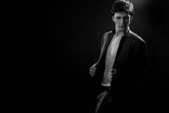Elegant fashion man Stock Photography