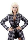Elegant fashion model posing Royalty Free Stock Image