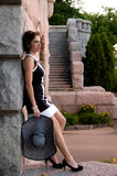 Elegant Fashion during Sunset Royalty Free Stock Photography