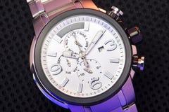 Elegant Fashion Wristwatch Closeup Stock Photography