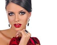 Elegant Fashionable Lady Stock Photos