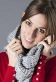 Elegant fashionable warm winter Royalty Free Stock Photography