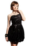 Elegant fashionable woman Royalty Free Stock Photos