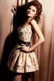 Elegant fashionable woman Royalty Free Stock Photo