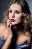 Elegant fashionable woman Stock Images