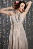 Elegant fashionable woman Stock Photography