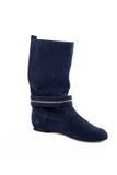 Elegant female boots isolated Stock Images