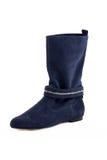 Elegant female boots isolated Stock Photos