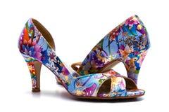 Elegant female shoes Royalty Free Stock Photos