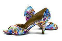 Elegant female shoes Royalty Free Stock Photography