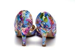 Elegant female shoes Royalty Free Stock Photography