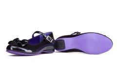 Elegant Female summer shoes stock image