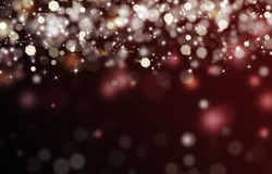 Elegant festive background. Bokeh with stars Stock Images