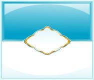 elegant flayeremballagepape Royaltyfria Foton