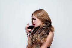 elegant flicka Royaltyfria Bilder