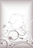 Elegant floral background 1-3 Stock Image
