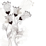 Elegant floral background Royalty Free Stock Image