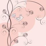 Elegant floral background Stock Images