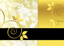 Elegant floral background Stock Photography