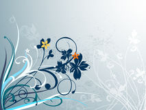 Elegant floral background Royalty Free Stock Images