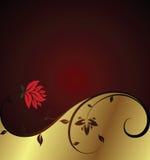 Elegant floral background. Illustration of elegant floral background Royalty Free Stock Photography