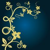 Elegant floral background. Royalty Free Stock Photo