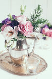 Elegant floral decor Stock Photo
