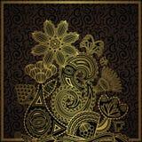 Elegant floral design Royalty Free Stock Images