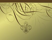 Elegant floral design background Stock Photography