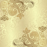 Elegant floral design Royalty Free Stock Photography