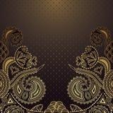 Elegant floral design Stock Images