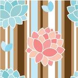 Elegant floral pattern Stock Photography