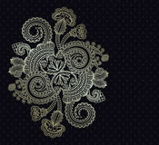 Elegant floral pattern Royalty Free Stock Images