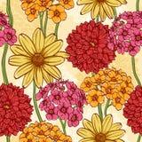 Elegant floral seamless pattern Royalty Free Stock Photo