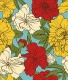 Elegant floral seamless pattern Stock Photo