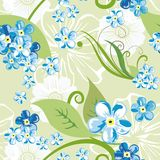 Elegant floral seamless pattern background for your design. Elegant floral seamless pattern background Royalty Free Stock Photography