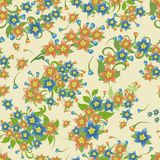 Elegant floral seamless pattern background for your design. Elegant floral seamless pattern background Royalty Free Stock Images