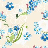 Elegant floral seamless pattern background for your design. Elegant floral seamless pattern background Stock Photography